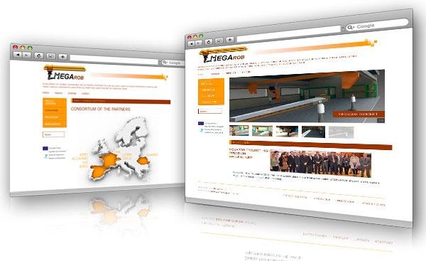 Diseño Web Megarob