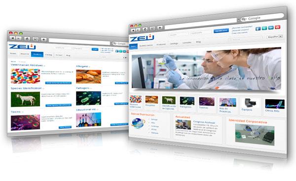 Nueva web zeulab