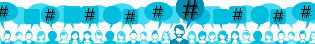 Uso de hashtags en redes sociales