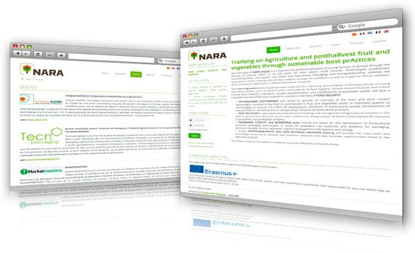Página Web NARA