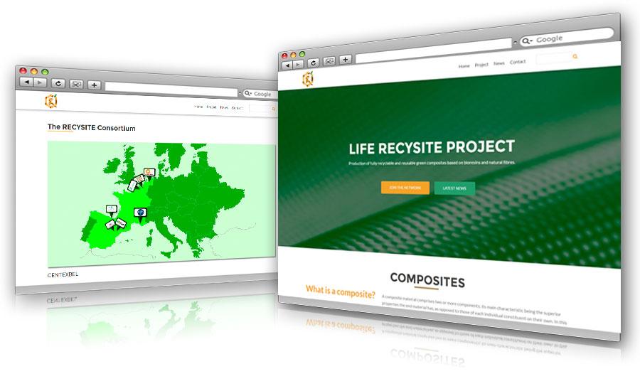 Página Web Recysite